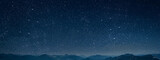 Fototapeta Na sufit - mountain. backgrounds night sky with stars and moon and clouds