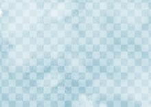 市松模様の染め和紙 ...