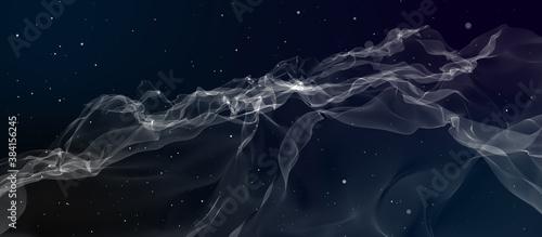 Fototapeta Abstract background simulating cigarette smoke obraz