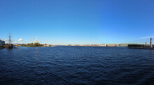 Panorama Of The Neva River Fro...