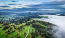 Aerial View On Wielkie Pole Wi...