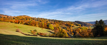 Panoramique D'un Paysage Monta...