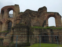 Trier Imperial Baths In Trier Germany