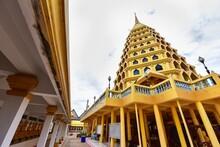 Golden Pagoda Of Wat Tha It In...