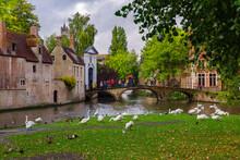 Bruges, Flanders, Belgium, Eur...