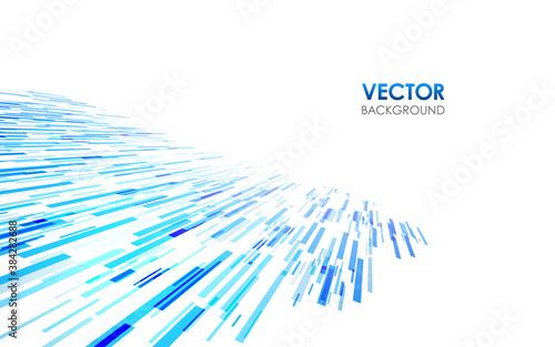 青い抽象的な背景 四角形