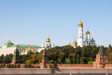 View Of Kremlin Cathedrals In ...