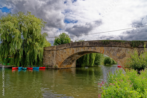 Fototapeta Halfpenny Bridge - Lechlade-on-Thames - United Kingdom