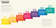 Seven Steps Diagram Template