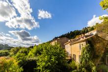 The Village Of Vauvenargues, In Provence