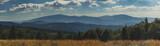 Fototapeta  - Panorama Beskidów ze szczytu góry Jałowiec