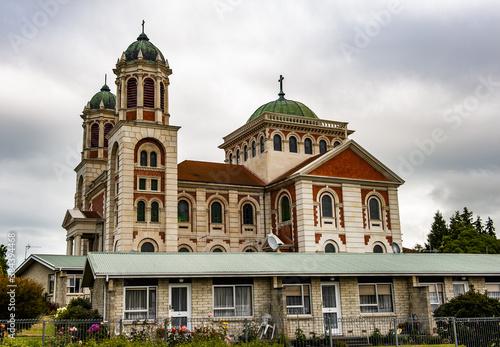 Foto Roman catholic basilica of Sacred Heart in Timaru in the New Zealand