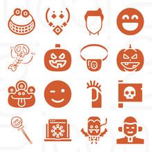 16 Pack Of Endured  Filled Web Icons Set