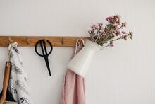 Hook Hanger With Jar Of Purple...