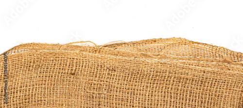 brown fabric texture - burlap textile