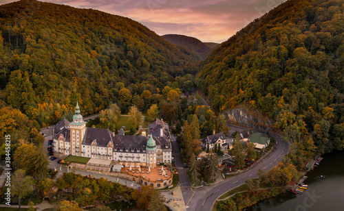Photo Hungary - Lillafüred with montains from drone view