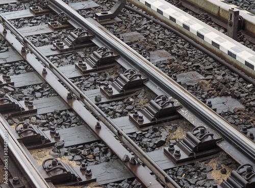 Fotografie, Obraz railway tracks detail
