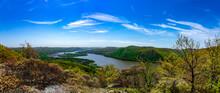 Lower Hudson Valley Overlook Panorama