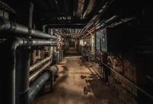 Old Abandoned Underground Pass...