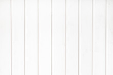 White Wood Decking Background From Vertical Boards
