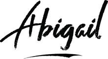 Abigail-Female Name Brush Call...