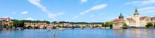 River Vltava With Charles Brid...