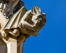 Stone Carvings At Gloucester C...