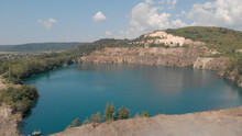 Panorama Of Emerald Lake In A ...