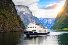 Panoramic  View Of Sognefjord,...