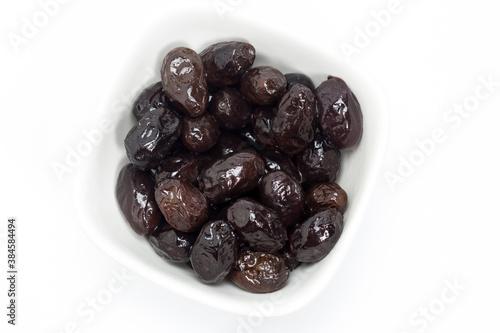 Fototapeta Aceitunas negras arrugadas de Aragón