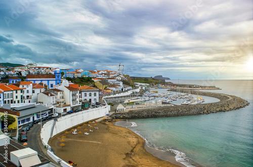 Obraz na plátně Prainha de Angra do Heroísmo, Ilha Terceira, Açores