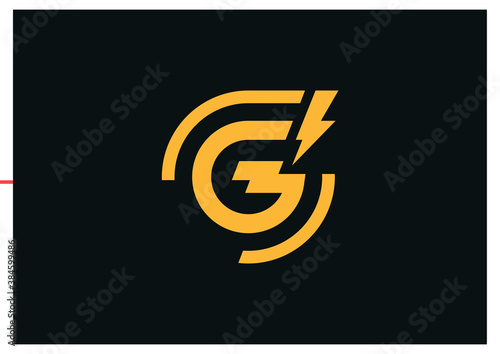 Letter G Logo Template Canvas-taulu