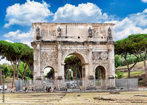Fotografía Arco de Triunfo de Constantino, Roma