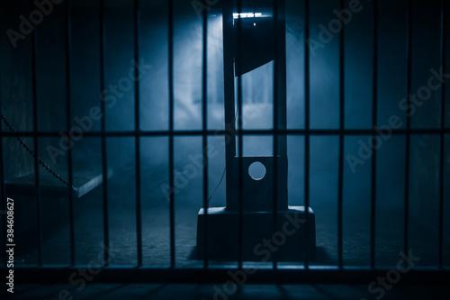 Fotomural Jail or prison cell