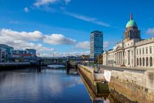 The Custom House Dublin Over L...