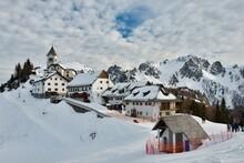 Monte Lussari - Village In The Alps