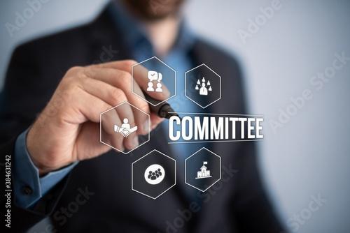 committee Fototapeta