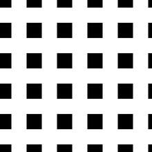 Seamless Pattern With Squares Ornament. Quadrangles Blocks Image. Repeated Checks Ornamental Background. Mosaic Motif. Checkered Floor. Flooring Wallpaper. Digital Paper. Vector Art Illustration.