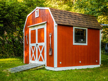 Stock Photo Of The Shed