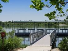 Floating Dock At The Veteran Lake, Sulphur, Oklahoma