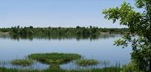 Lake Veteran On A Beautiful Day At Sulphur, Oklahoma