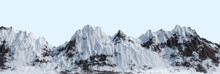 Panoramic Snowy Mountains Rang...