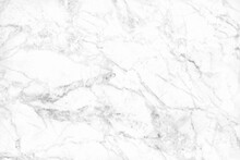 Top View Of White Grey Marble ...