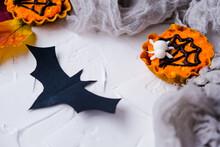 Flatlay On Theme Of Halloween....