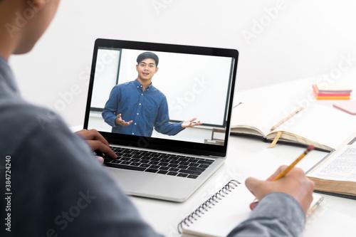 Fototapeta Education and online learning. obraz na płótnie