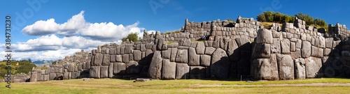 Fototapeta Sacsayhuaman, Inca ruins in Cusco or Cuzco town, Peru obraz