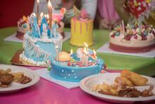 Vanilla Cake To Celebrate Birthday