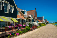 Row Of Dutch Style Houses In V...