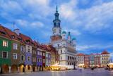 Fototapeta Miasto - Poznan city square, Poland