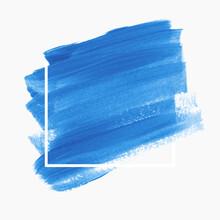 Logo Brush Stroke Paint Backgr...